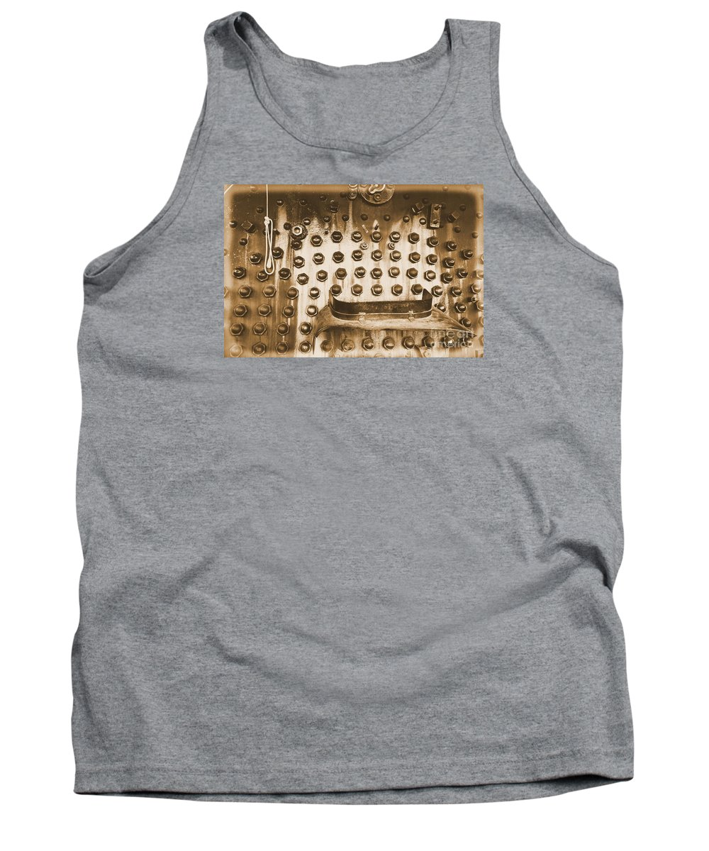 Train Tank Top featuring the photograph Trains 4 2 by Jay Mann