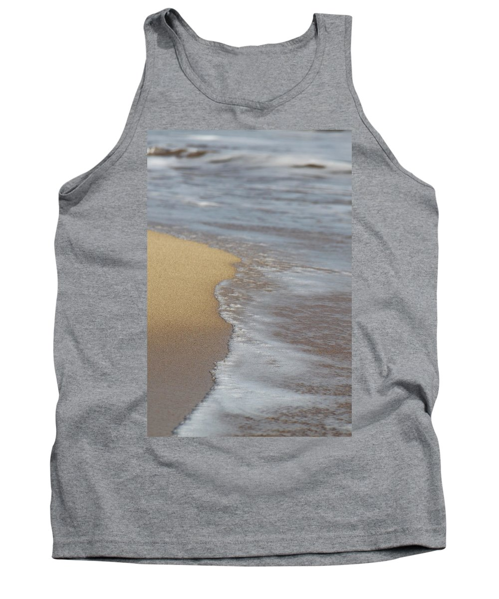 Sand Tank Top featuring the photograph Tranquil by Lauri Novak