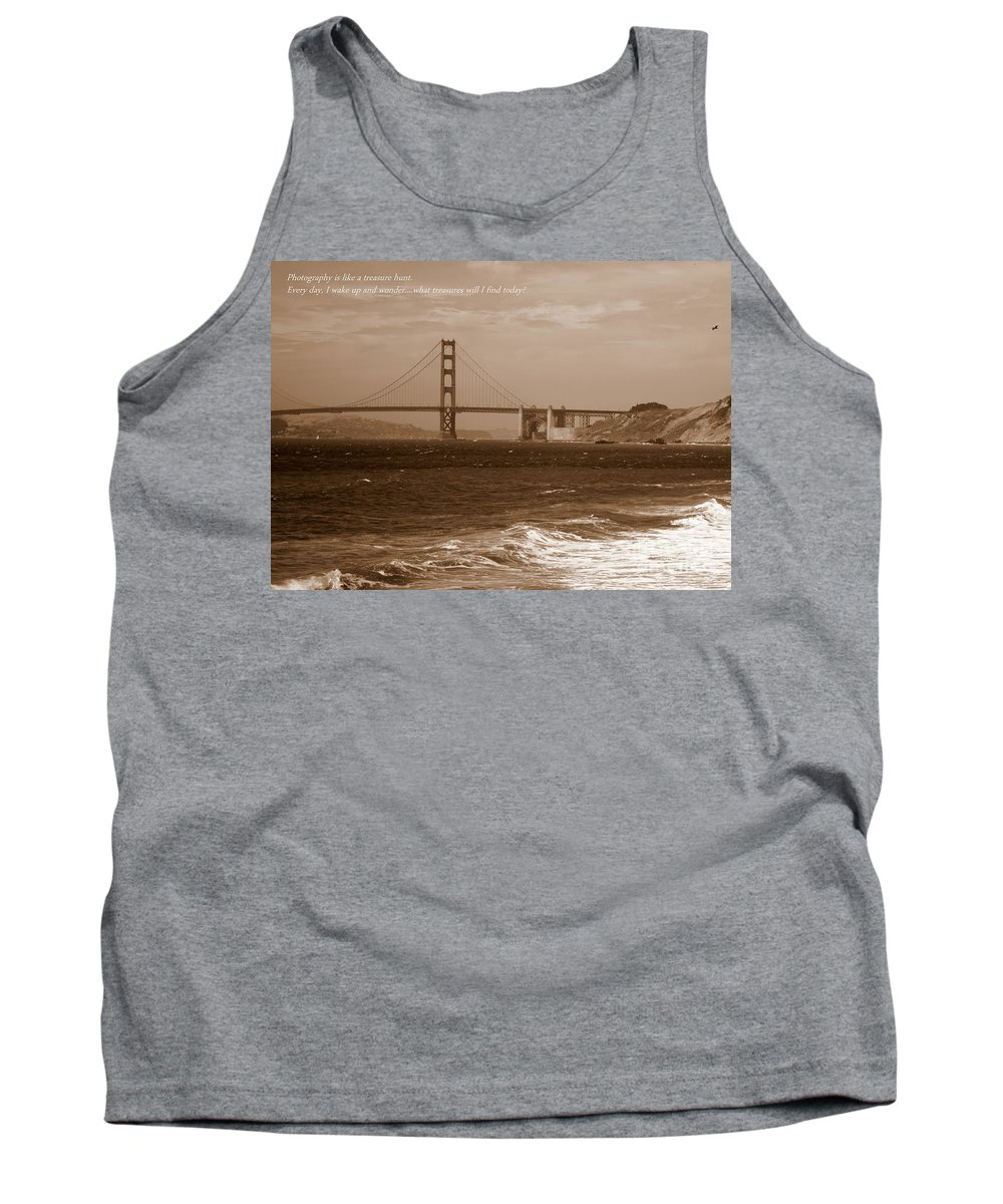 Photographers Tank Top featuring the photograph Treasure Hunt Poster by Carol Groenen
