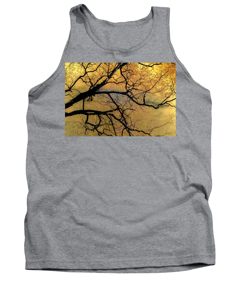 Scenic Tank Top featuring the photograph Tree Fantasy 7 by Lee Santa