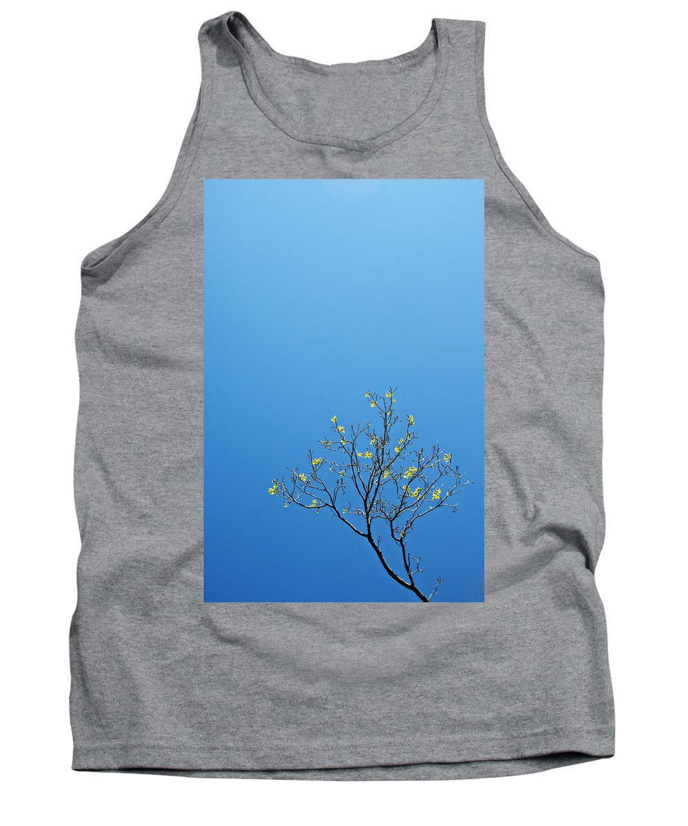Tree Tank Top featuring the photograph Tree In Spring by Scott Sawyer