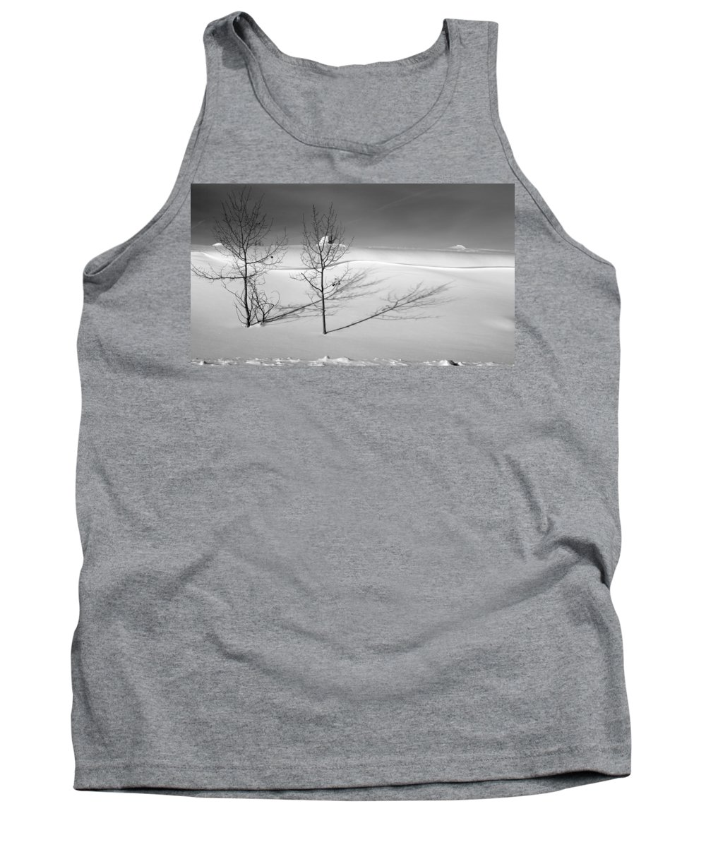 Nature Tank Top featuring the photograph Twins by Skip Hunt