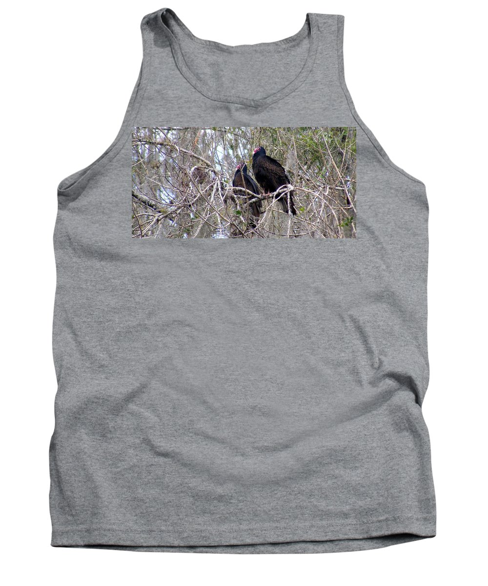 Birds Tank Top featuring the photograph Two Friends by Ed Smith