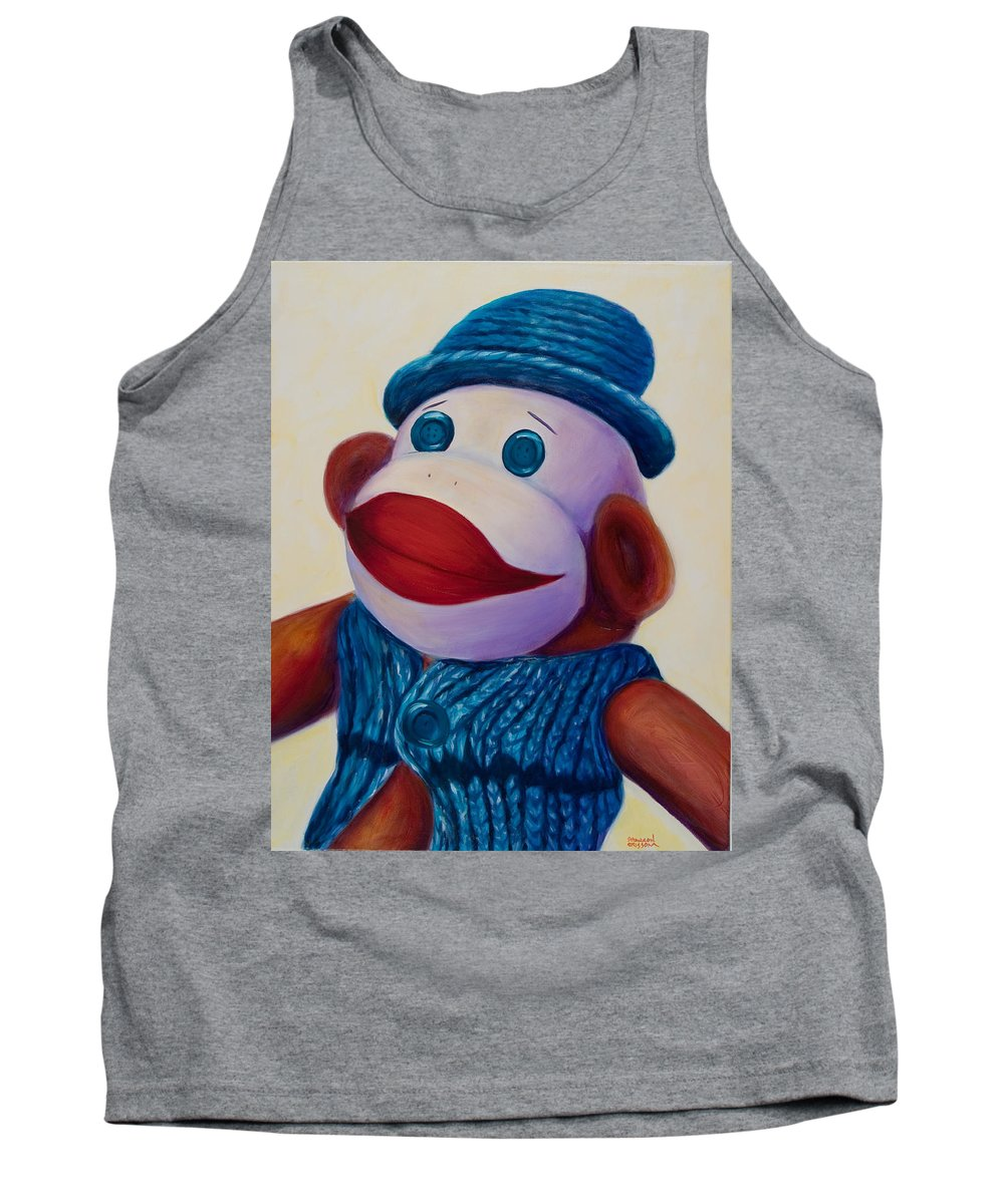 Children Tank Top featuring the painting Uncle Frank by Shannon Grissom