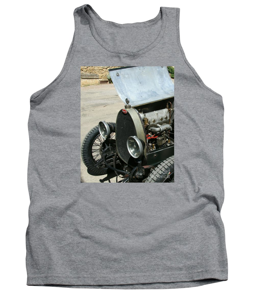 Hood Tank Top featuring the photograph Under The Hood by Christiane Schulze Art And Photography