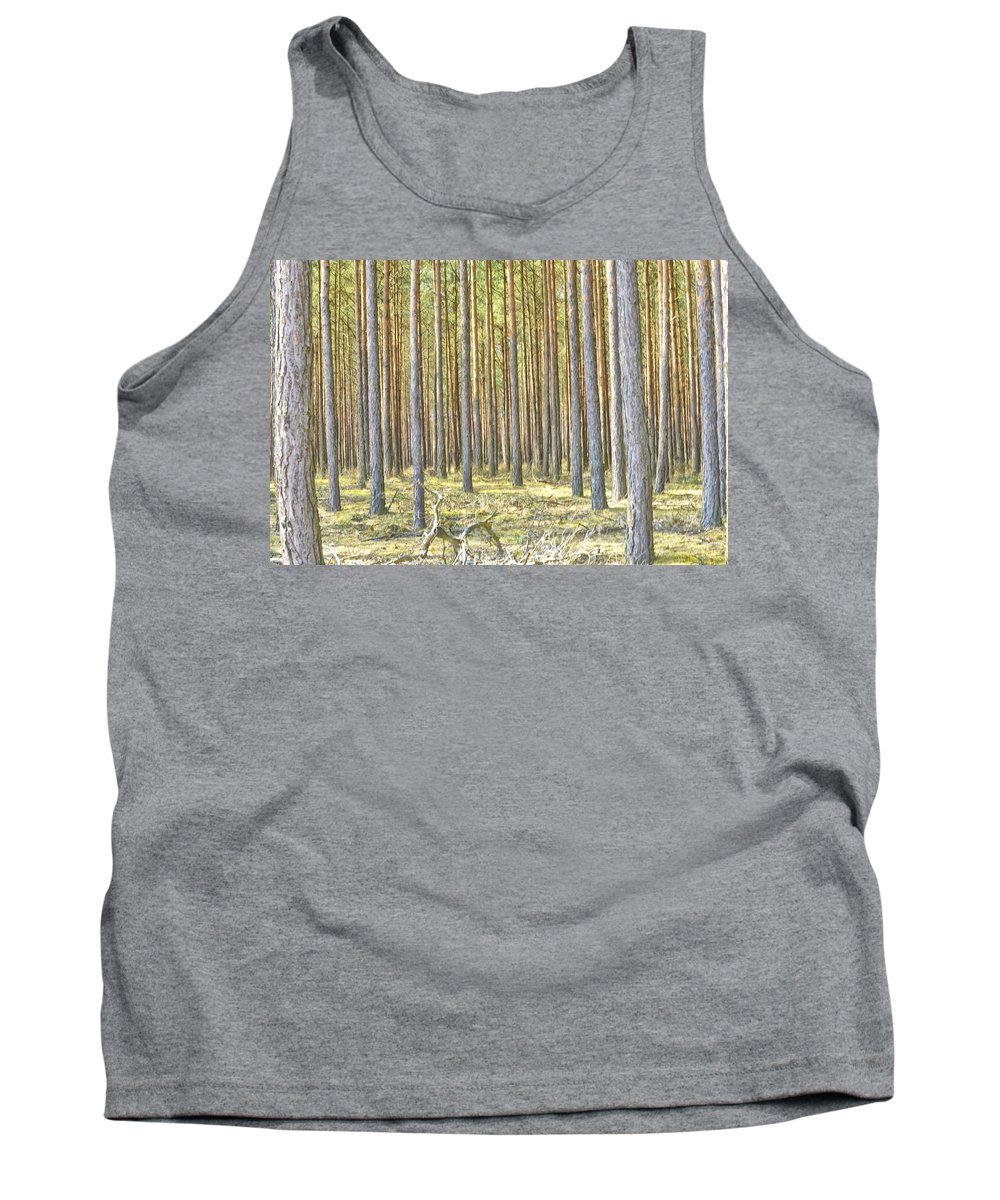 Undergrowth Tank Top featuring the photograph Underbrush. by Adriano Bussi