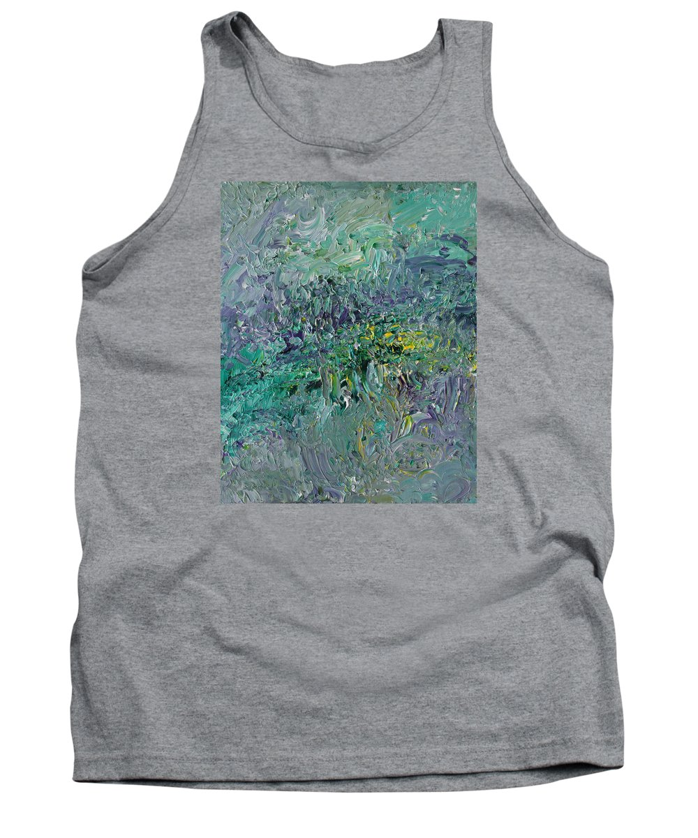 Fusionart Tank Top featuring the painting Blind Giverny by Ralph White