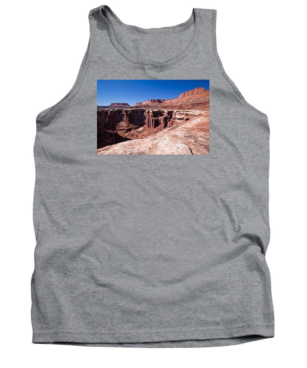 Utah Tank Top featuring the photograph Utah-canyonlands National Park by Arlene Waller