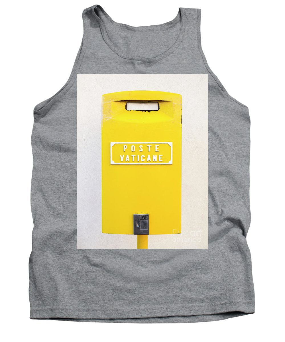 Holy See Tank Top featuring the photograph Vatican Mail by Lasse Ansaharju