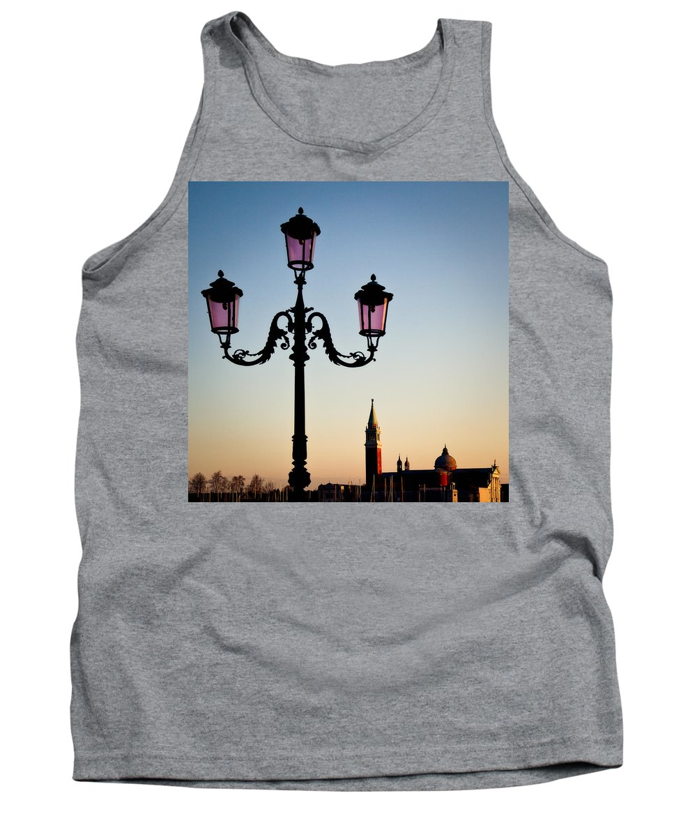 Venice Tank Top featuring the photograph Venetian Sunset by Dave Bowman