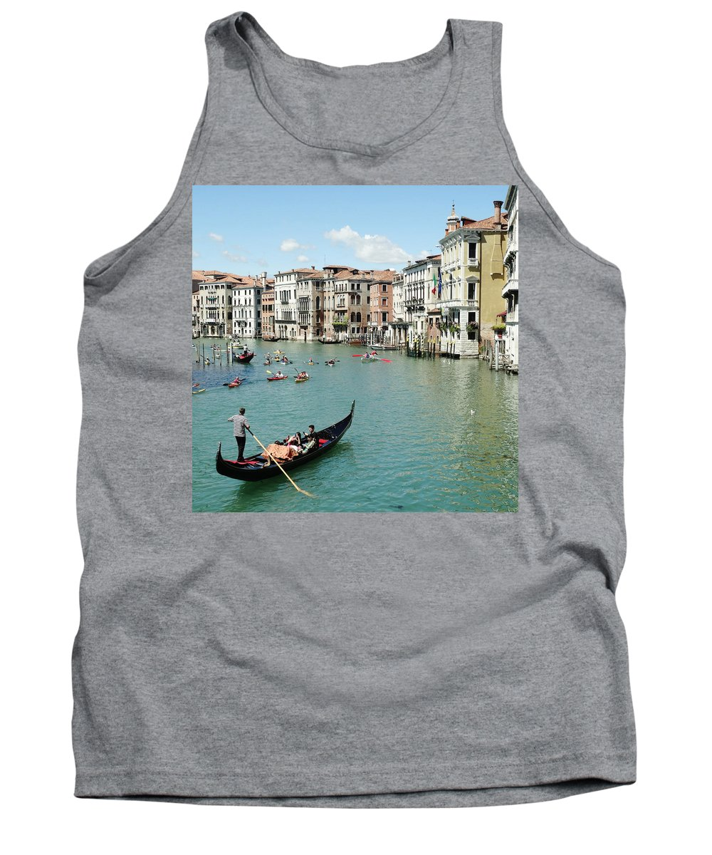 Venice Tank Top featuring the photograph Venice In Colors by Victor Carvalho