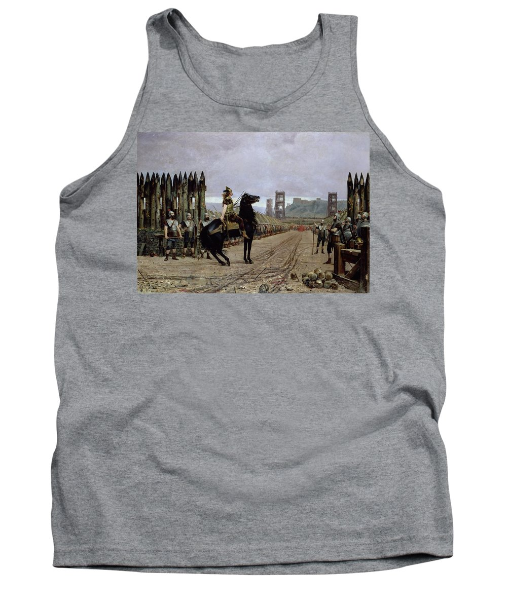 Scaffold Paintings Tank Tops