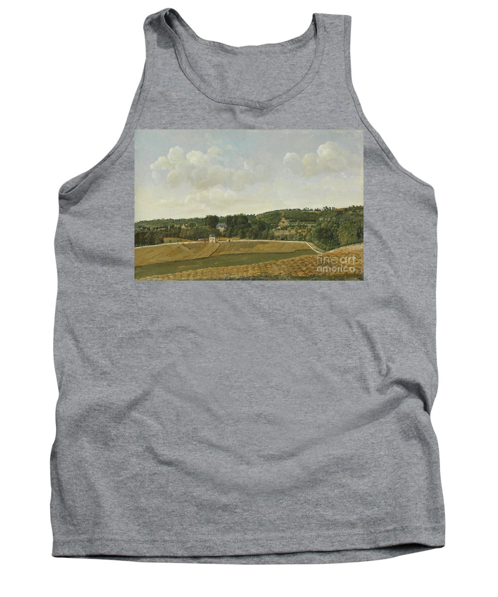 Achille-etna Michallon (1796�1822) View Of Chatenay Tank Top featuring the painting View Of Chatenay by Celestial Images