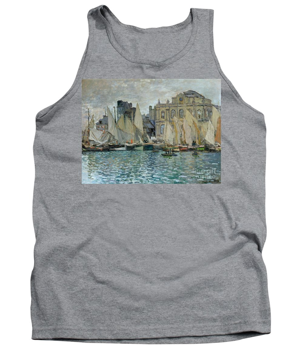 View Of Le Havre Tank Top featuring the painting View Of Le Havre by Claude Monet
