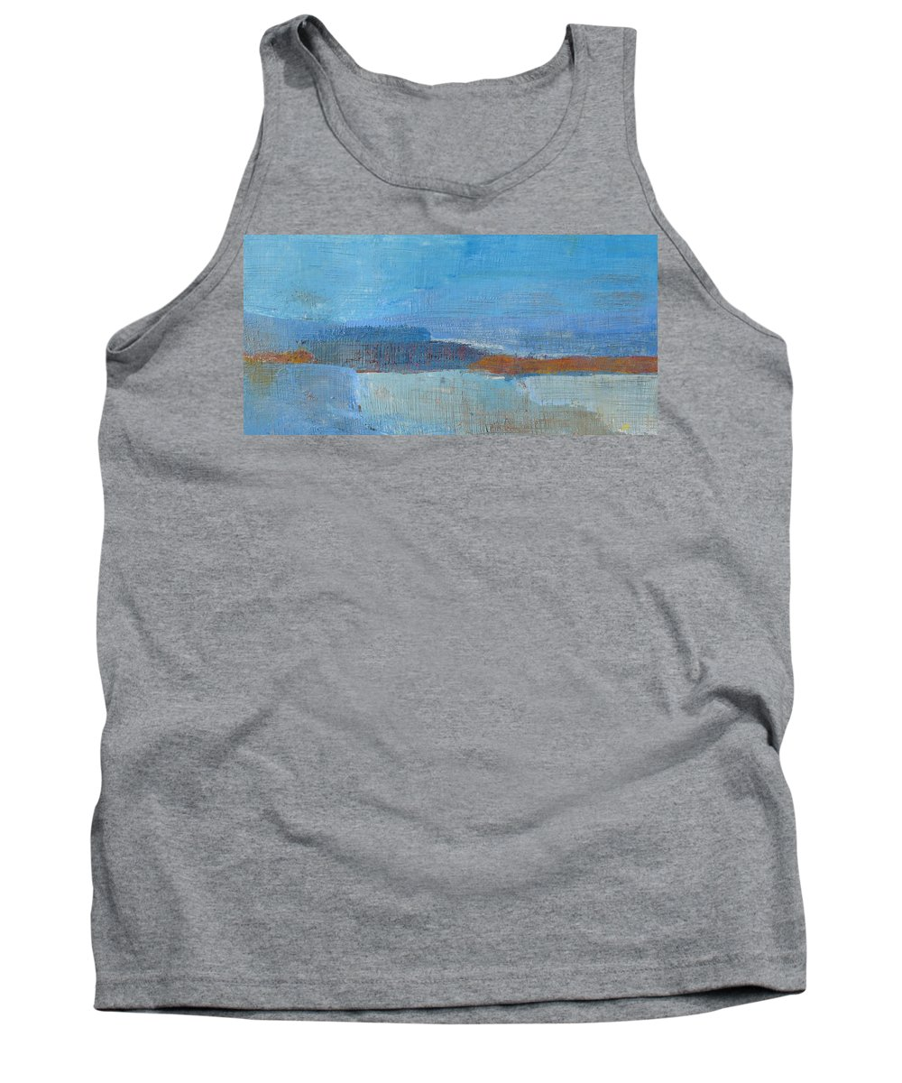 Abstract Tank Top featuring the painting Vision by Habib Ayat