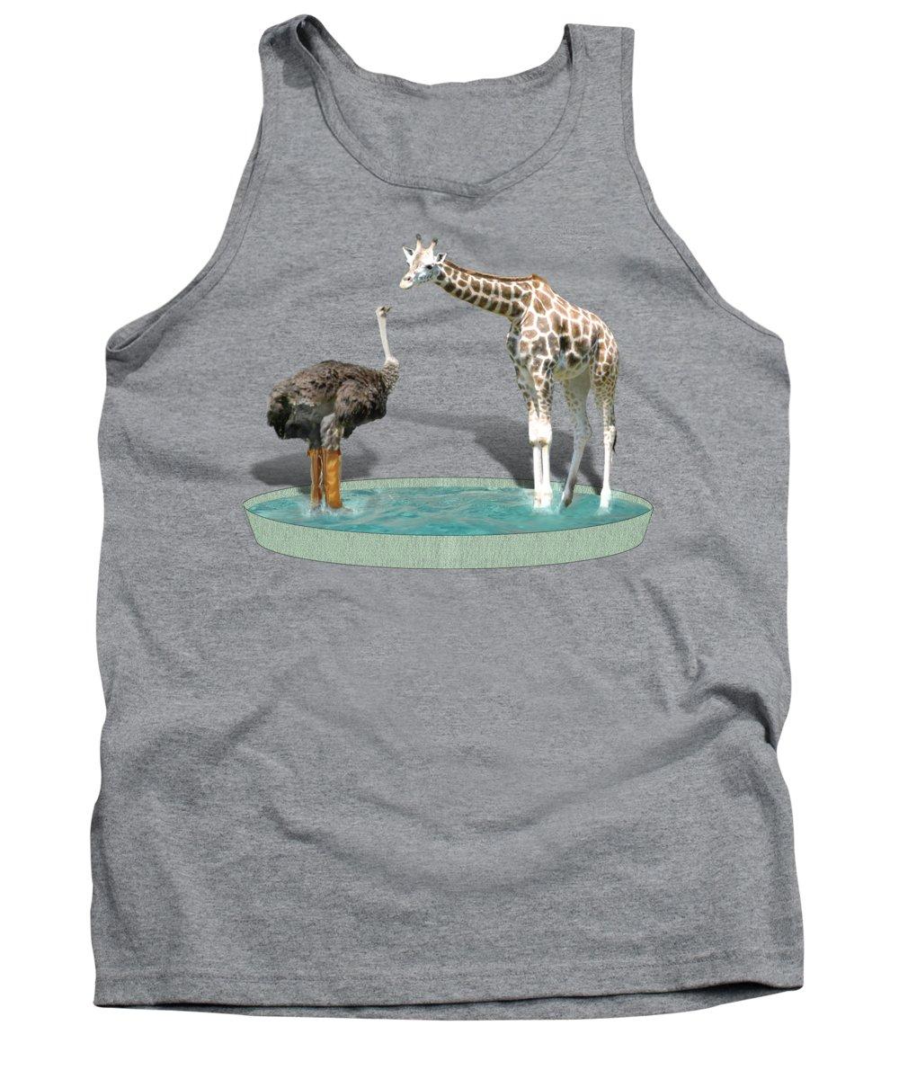 Ostrich Tank Tops