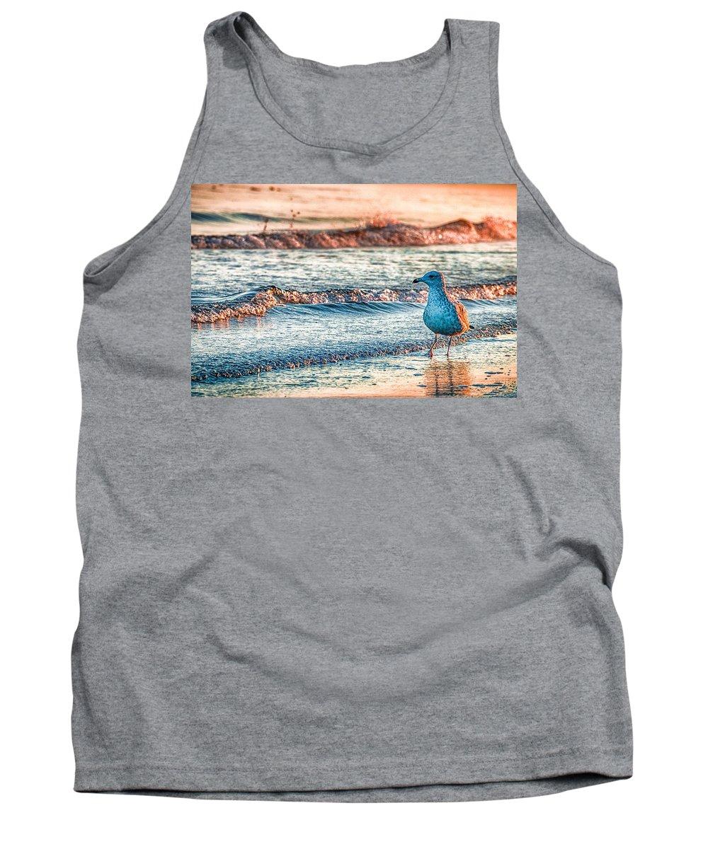 Ocean Tank Top featuring the photograph Walking On Sunshine by Mathias Janke