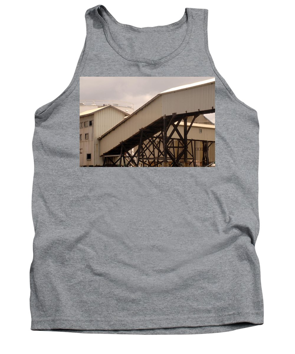Urban Tank Top featuring the photograph Warehouse Passage by Jill Reger