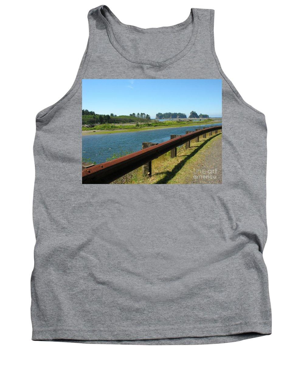 Washington Coast Tank Top featuring the photograph Washington Coast by Diane Greco-Lesser