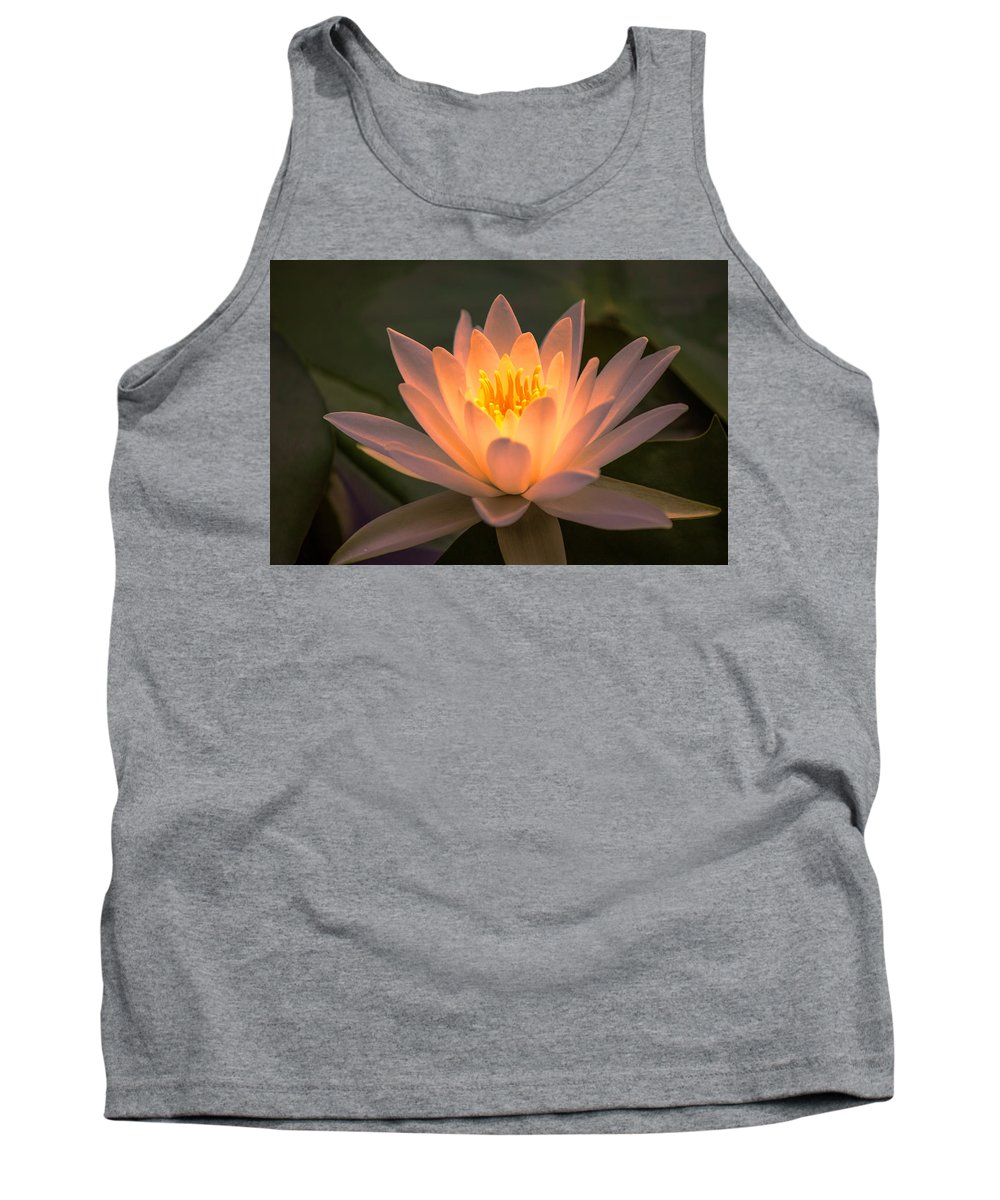 Pond Tank Top featuring the photograph Water Lily by Judy Witter