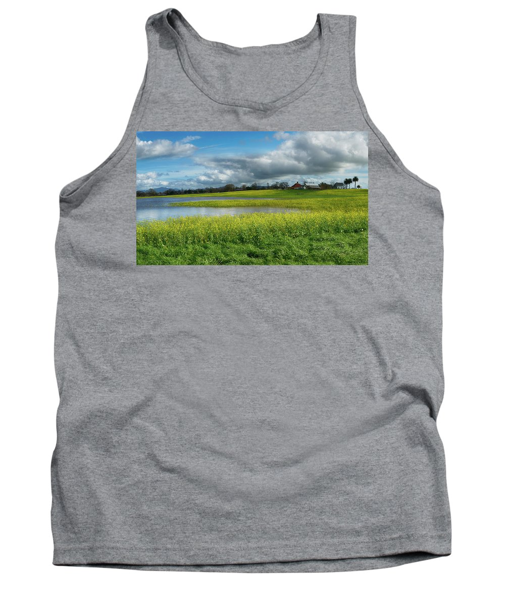 Water To Light Tank Top featuring the photograph Water To Light by Stan Angel