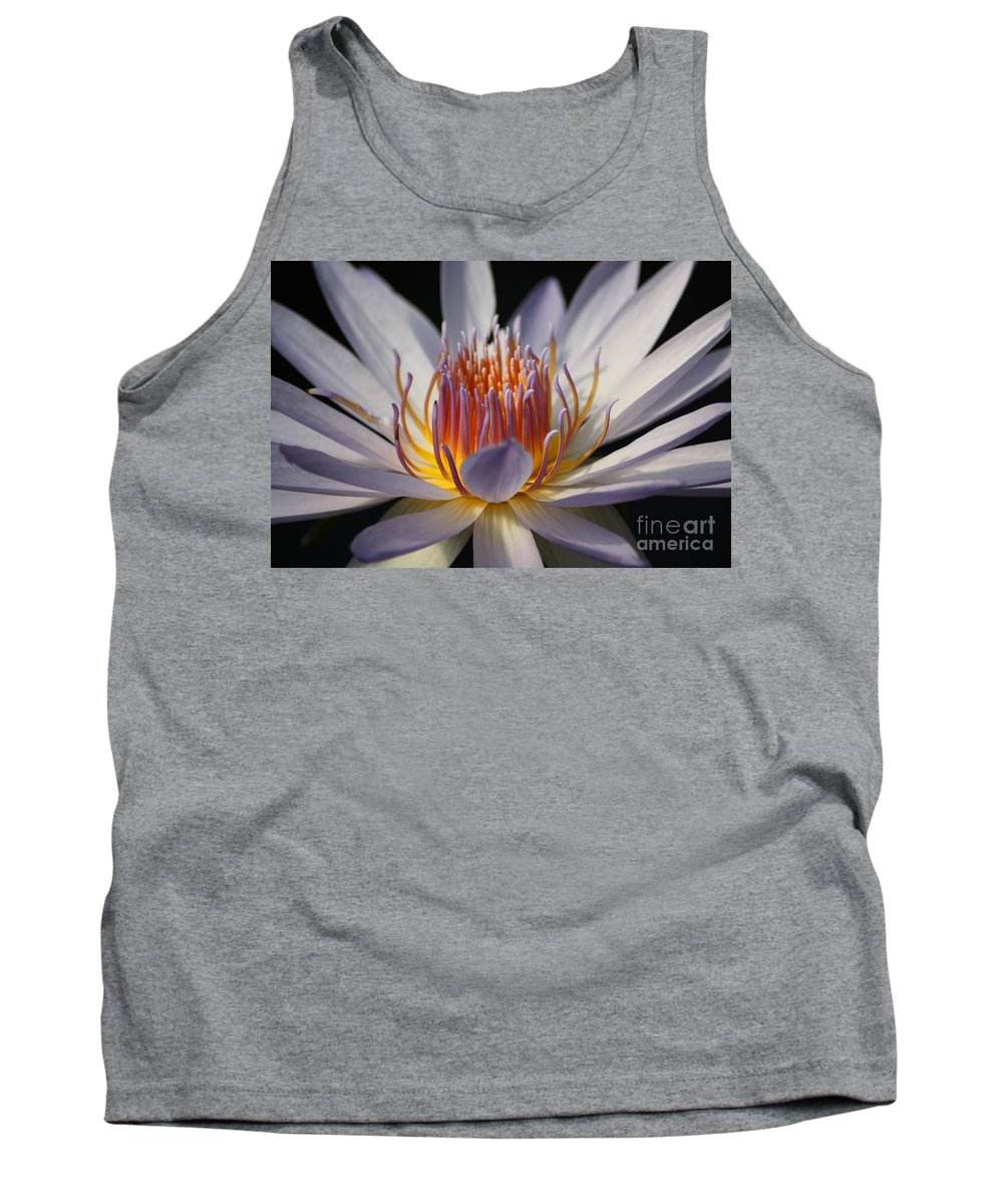 Waterlily Tank Top featuring the photograph Waterlily by Helen Weston