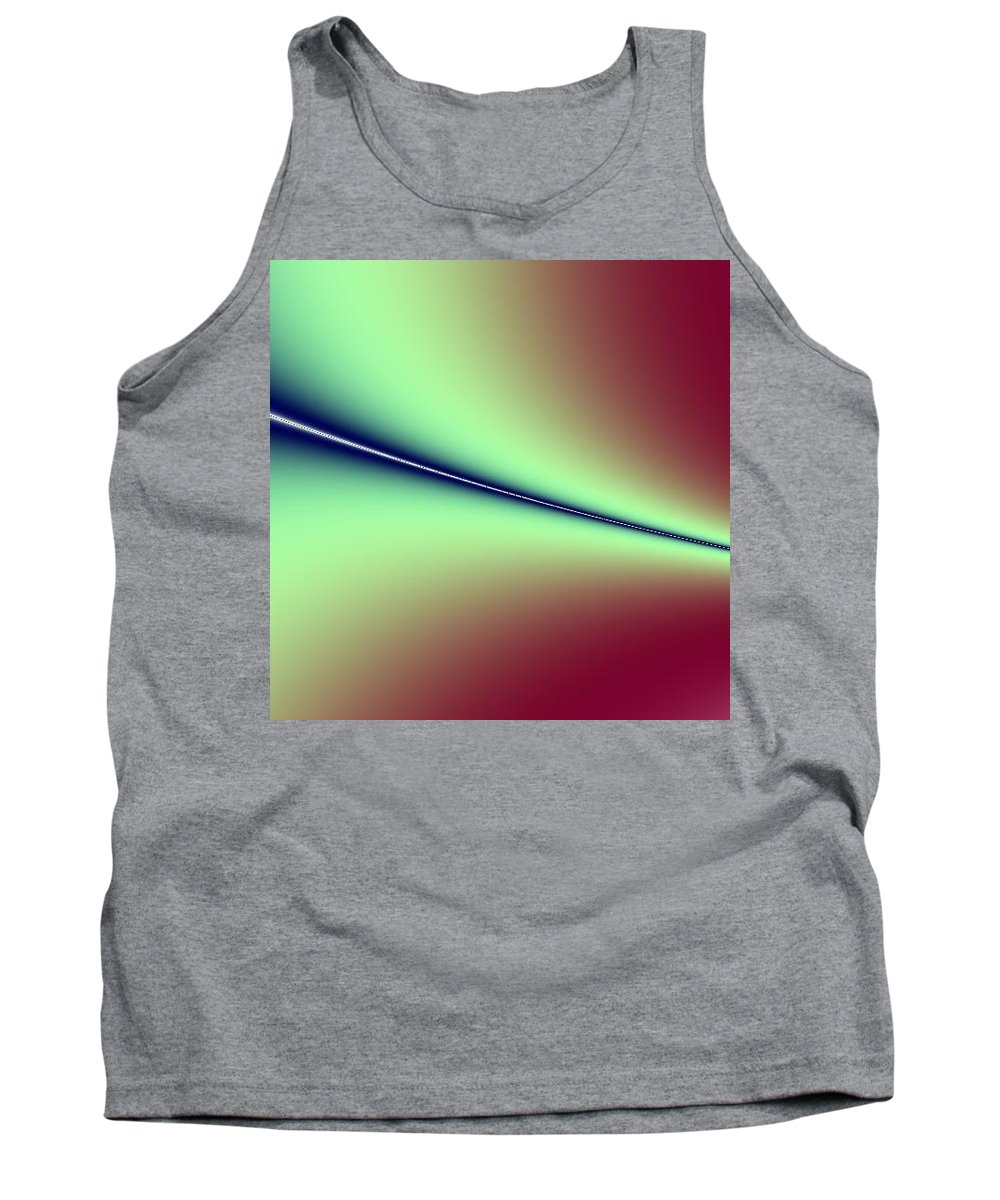 Digital Art Tank Top featuring the digital art Way Out I by Dragica Micki Fortuna
