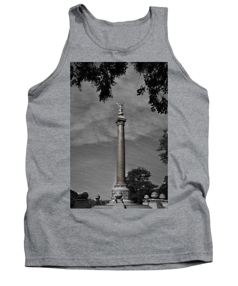 West Point Tank Top featuring the photograph West Point Battle Monument by Stuart Litoff