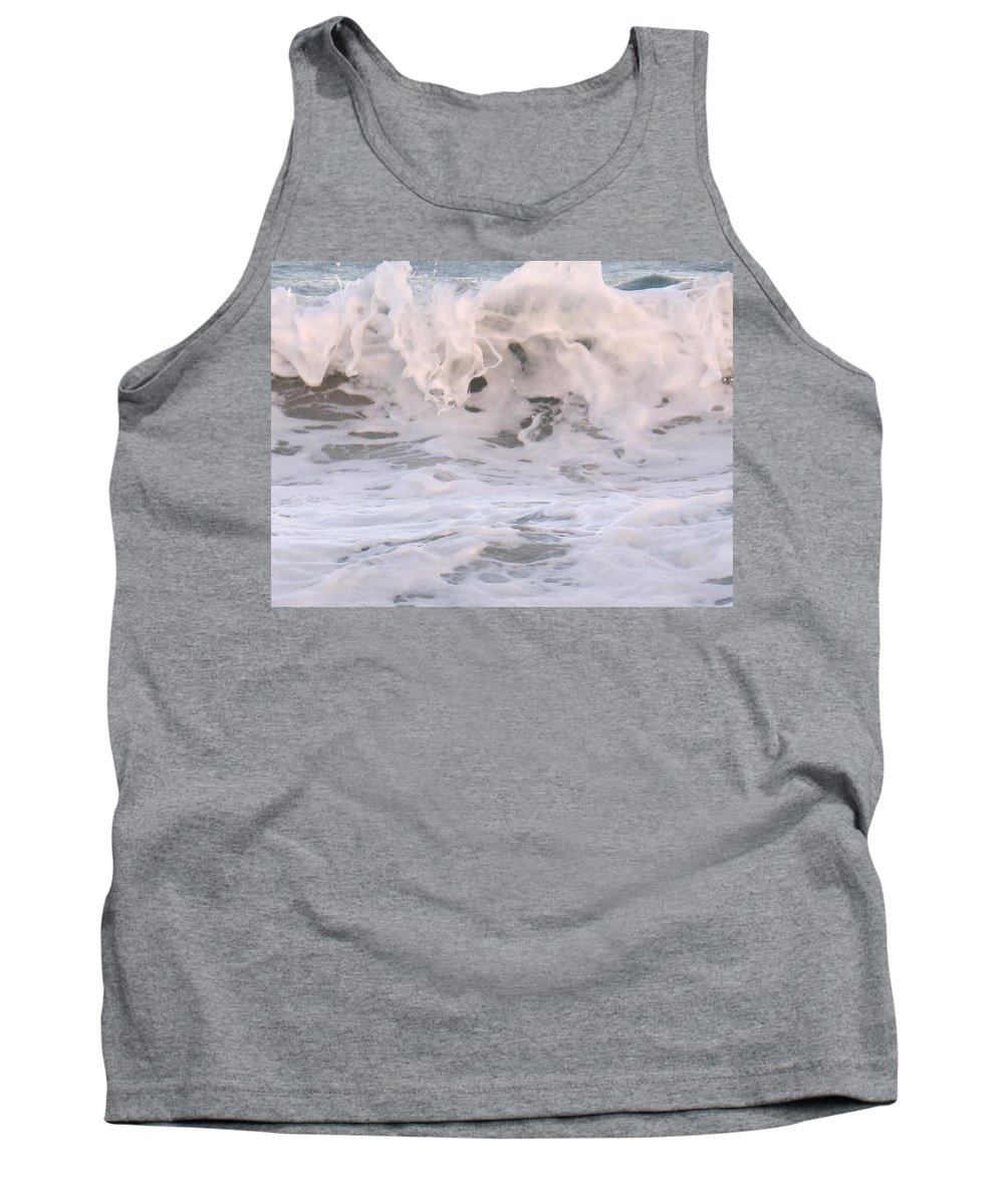Surf Tank Top featuring the photograph Wild Surf by Ian MacDonald