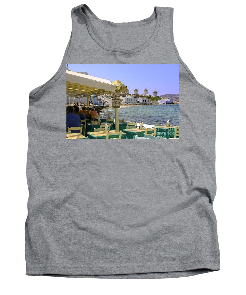 Windmills Tank Top featuring the photograph Windmill View by Madeline Ellis