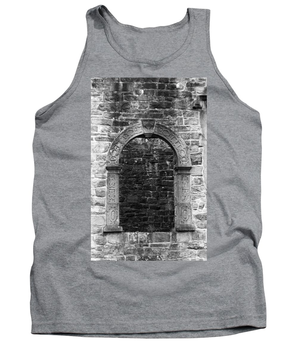 Irish Tank Top featuring the photograph Window At Donegal Castle Ireland by Teresa Mucha