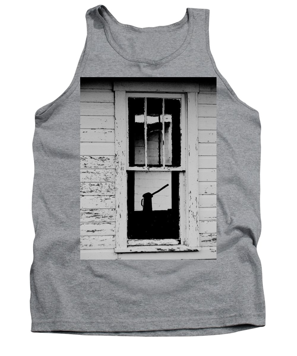 Still Life Tank Top featuring the photograph Window To The Past by Ed Smith