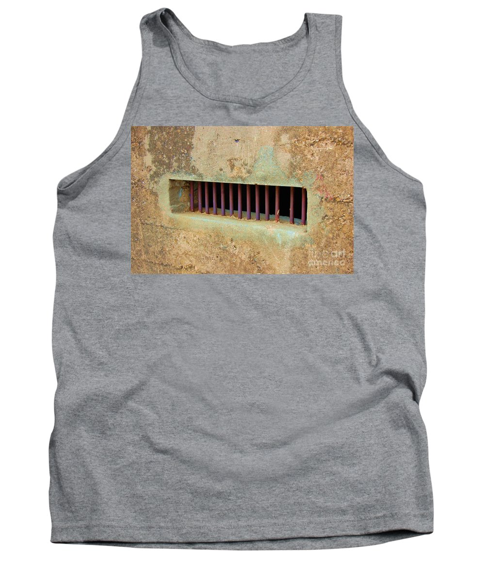 Jail Tank Top featuring the photograph Window To The World by Debbi Granruth