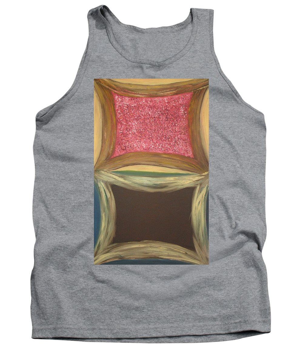 Soul Tank Top featuring the painting Windows On The Soul by Michael Benjamin