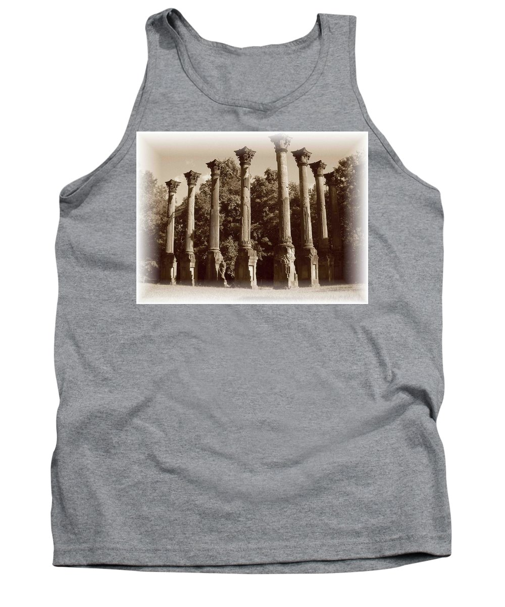 Windsor Tank Top featuring the photograph Windsor 2 by Nelson Strong