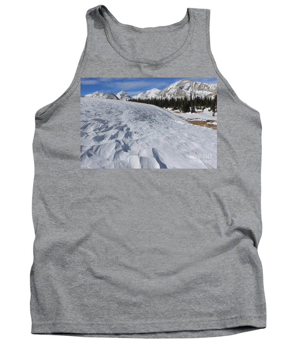 Nature Tank Top featuring the photograph Windswept by Tonya Hance