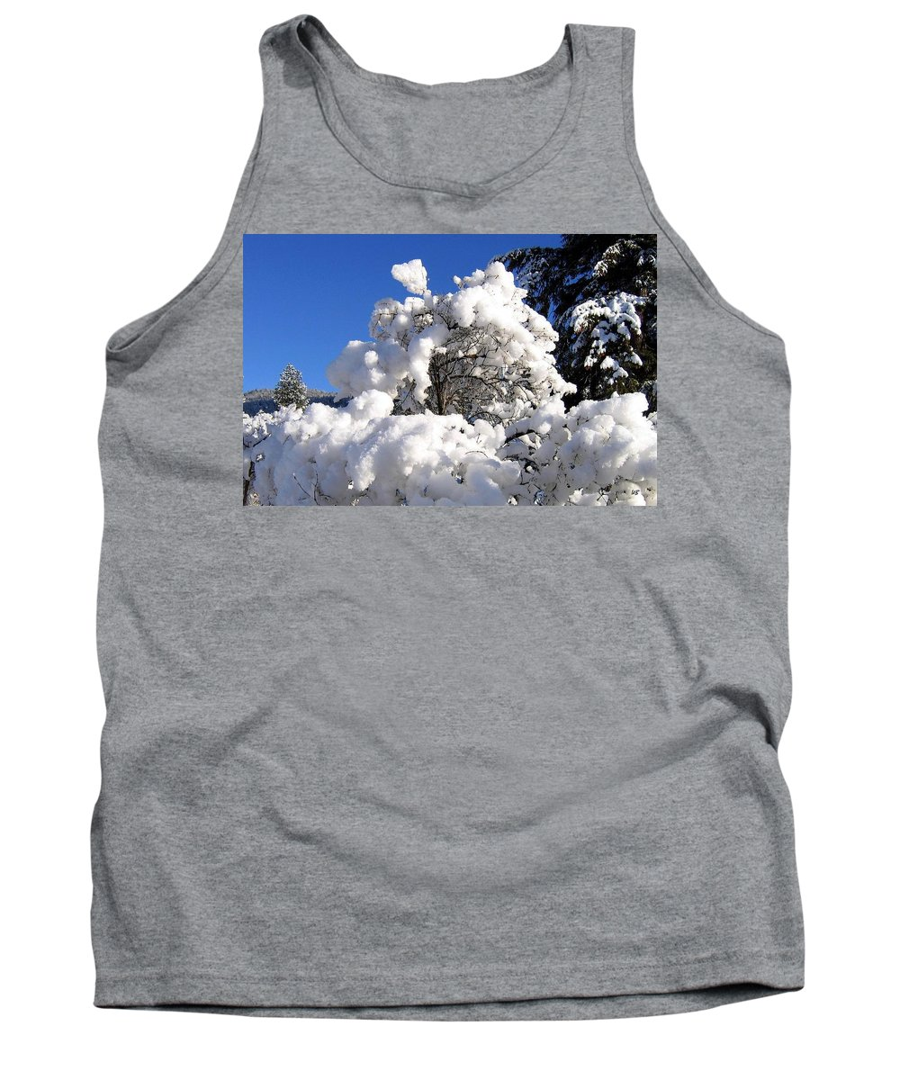 Winter Tank Top featuring the photograph Winter Cotton by Will Borden