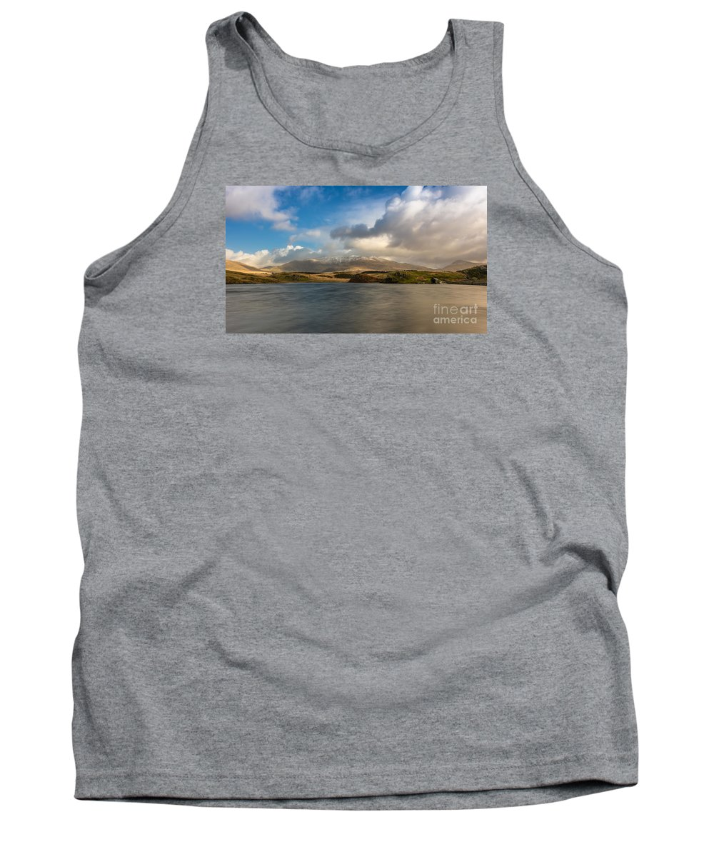 Snowcapped Tank Top featuring the photograph Winter Mountains by Adrian Evans