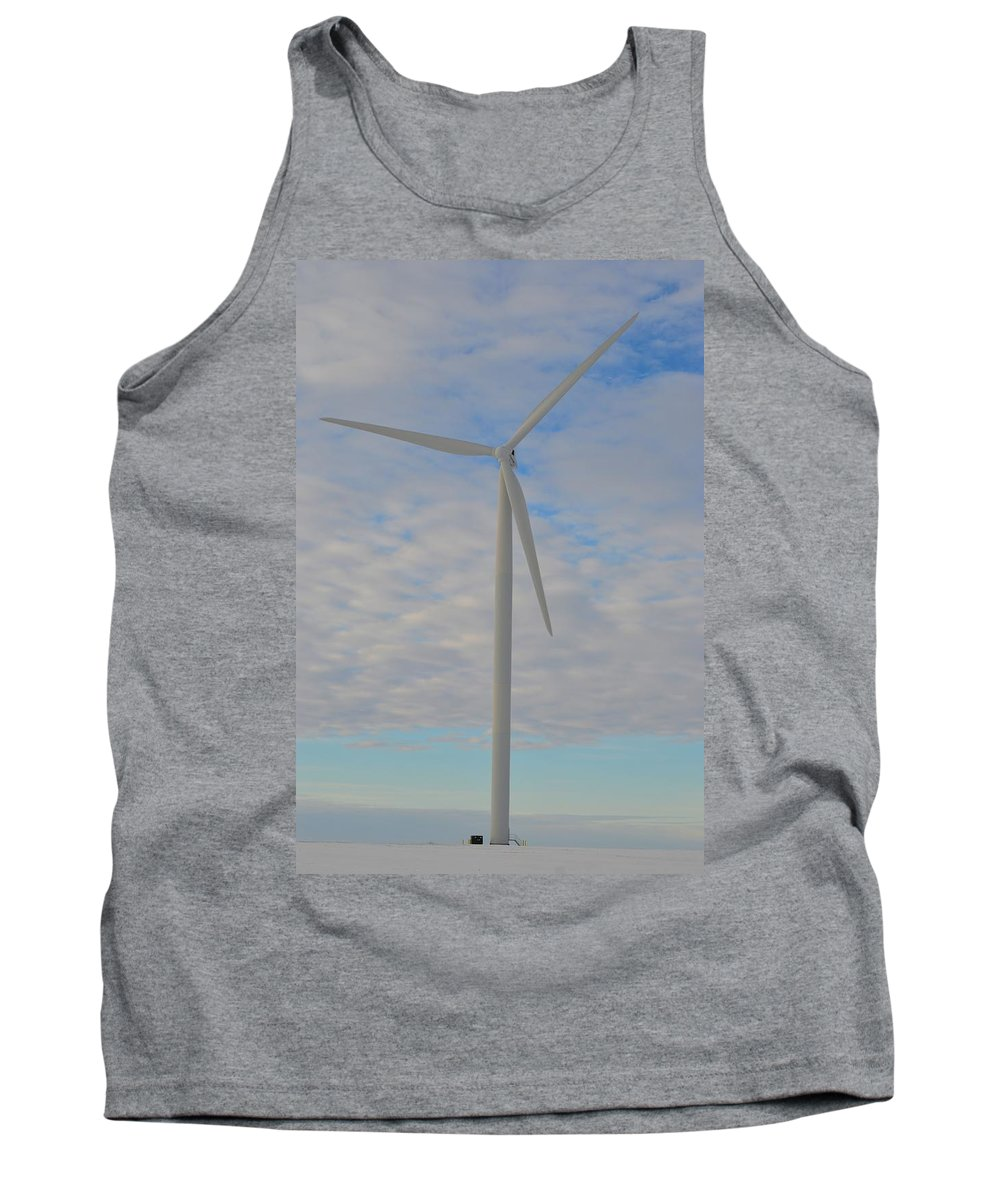 Sun Tank Top featuring the photograph Winter Wind by Bonfire Photography
