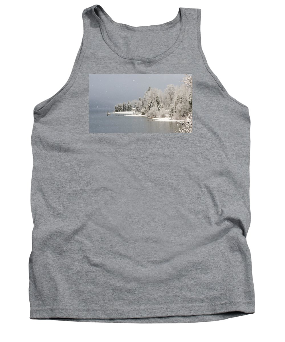 Christmas Card Tank Top featuring the photograph The Sound Of Silence by Joy McAdams