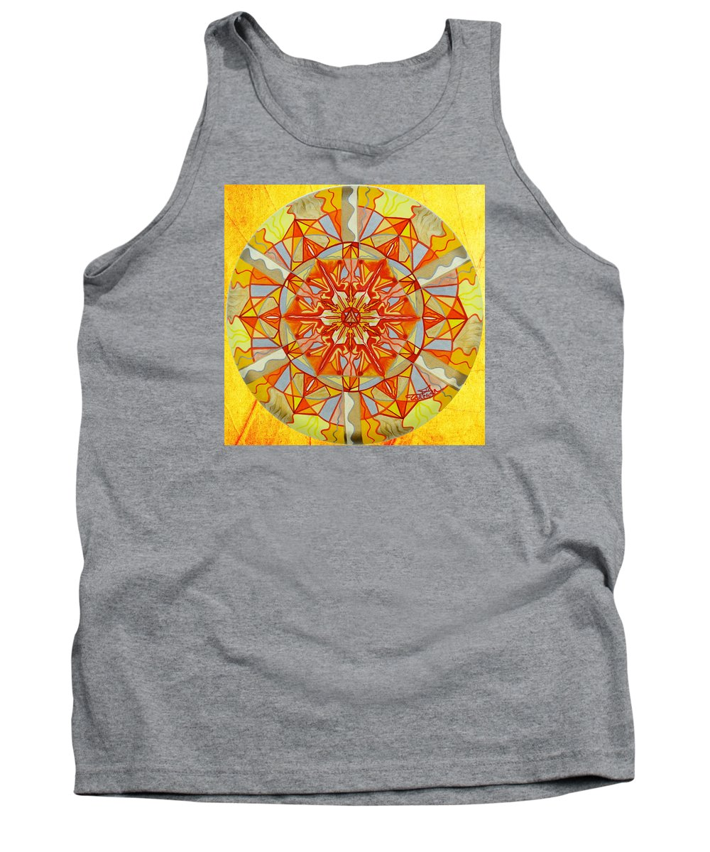 Vibration Tank Top featuring the painting Wonder by Teal Eye Print Store