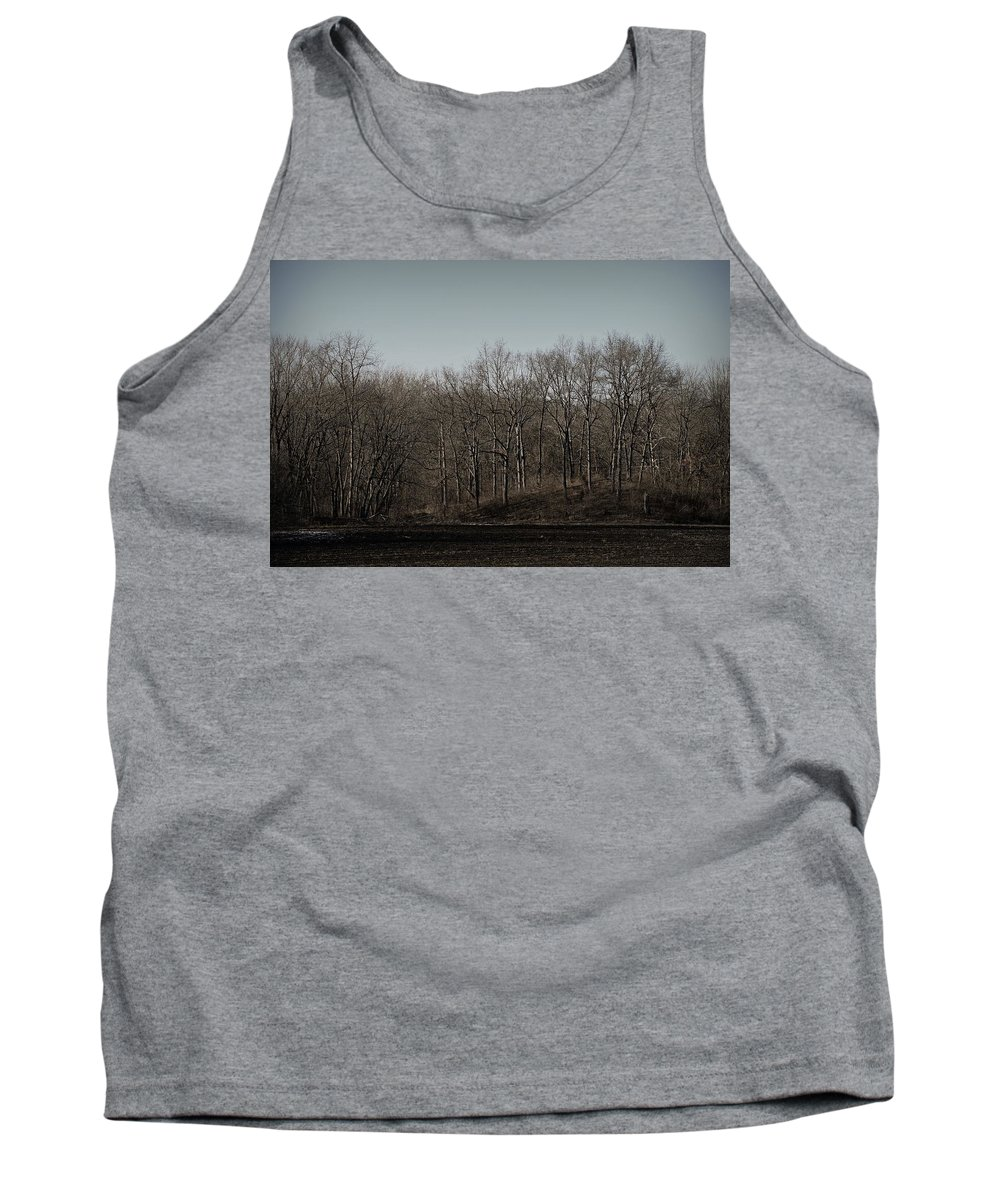 Trees Tank Top featuring the photograph Woods Among The Trees by Kurt Keller
