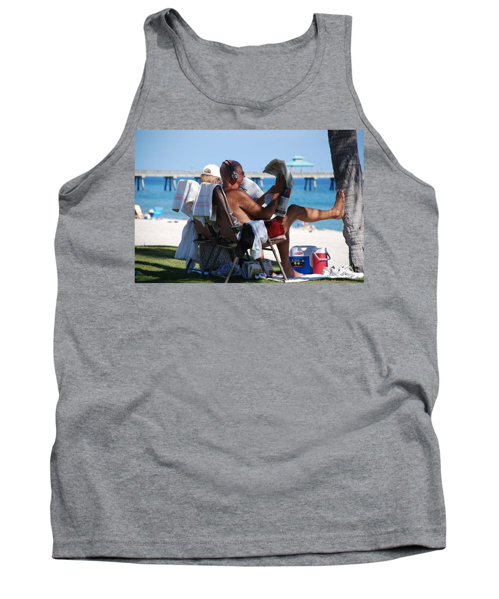 Man Tank Top featuring the photograph Working Hard by Rob Hans