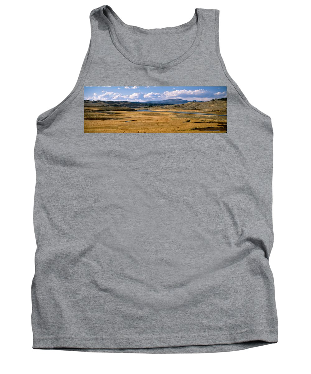 Photography Tank Top featuring the photograph Yellowstone River In Hayden Valley by Panoramic Images