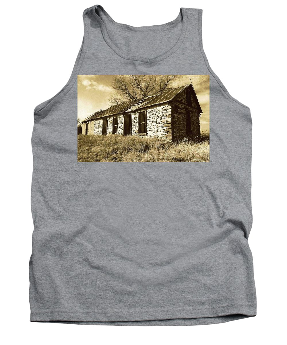 New Mexico Tank Top featuring the photograph Yeso New Mexico 1 by Nelson Strong