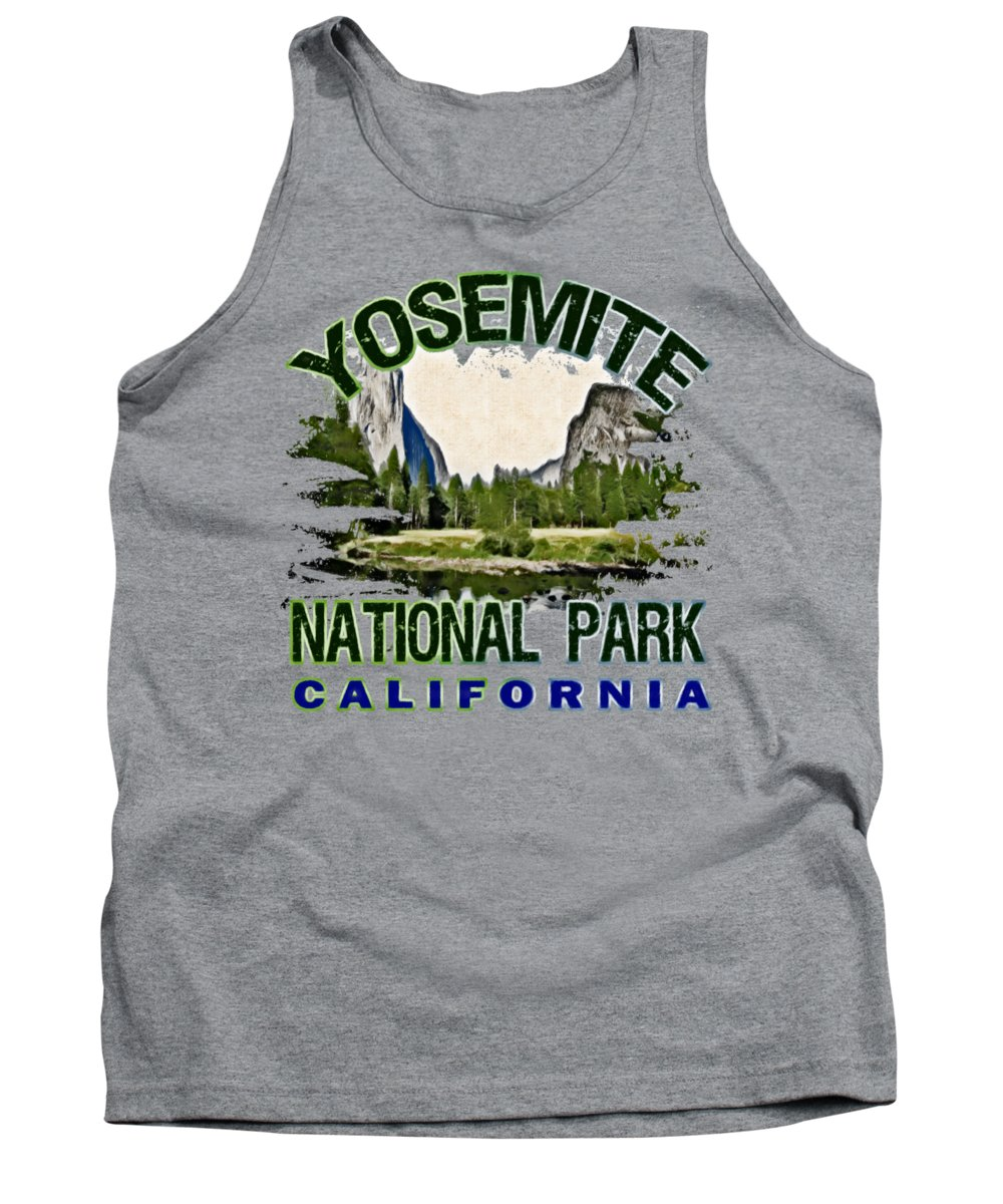 Yosemite National Park Tank Tops