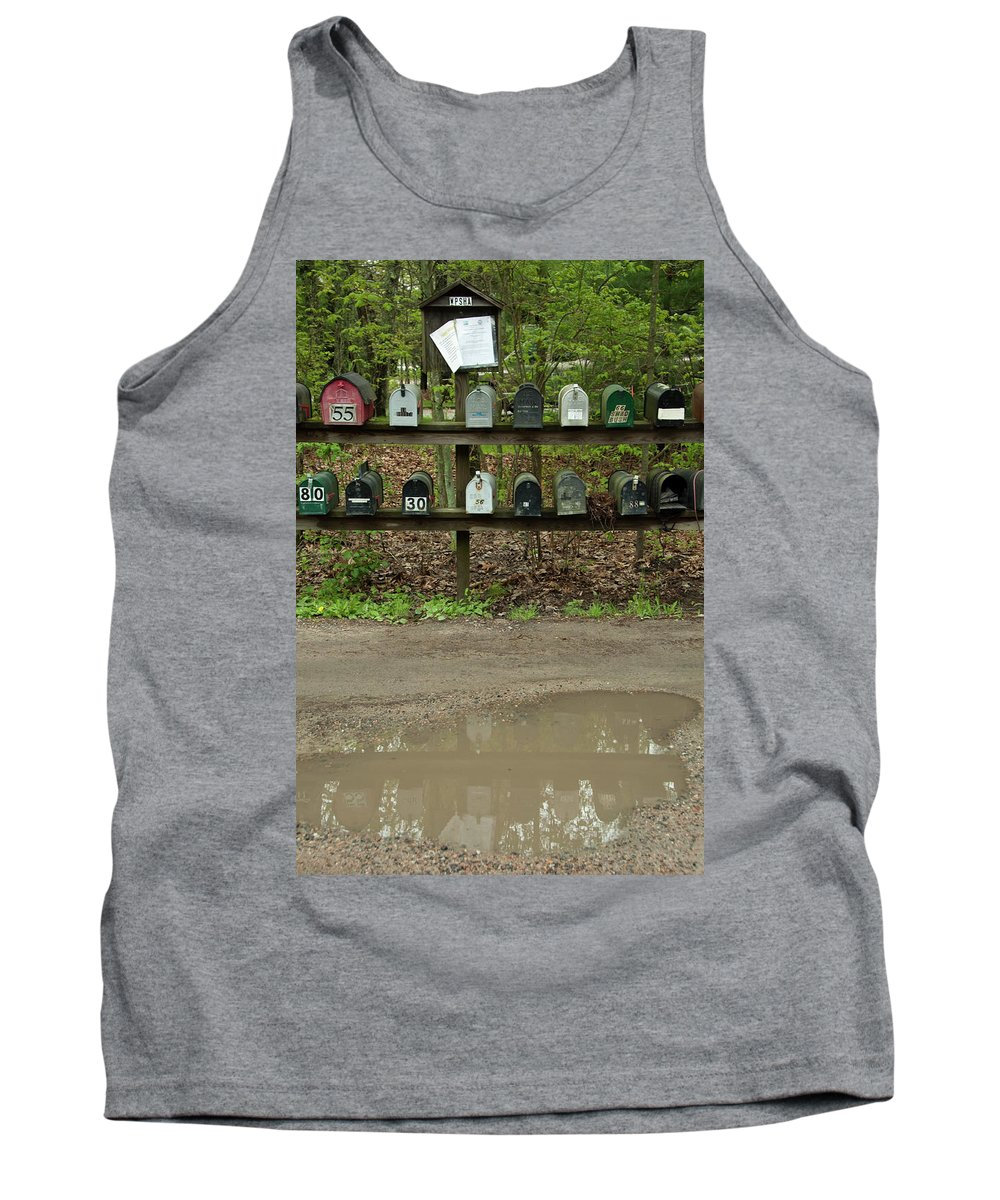 Photography Tank Top featuring the photograph Youve Got Mail by Steven Natanson