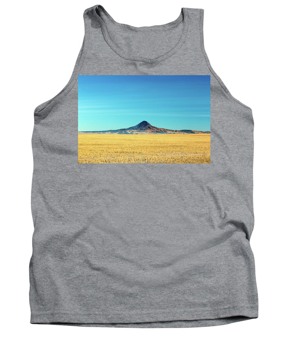 Butte Tank Top featuring the photograph Gold Butte by Todd Klassy