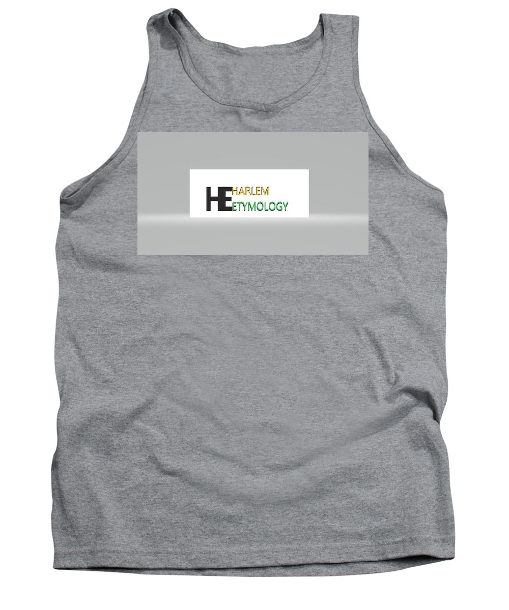 Tank Top featuring the digital art He by Andrew Johnson