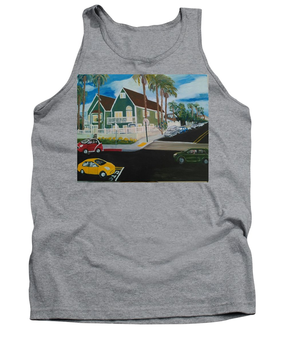 Painting Tank Top featuring the painting OB House by Andrew Johnson